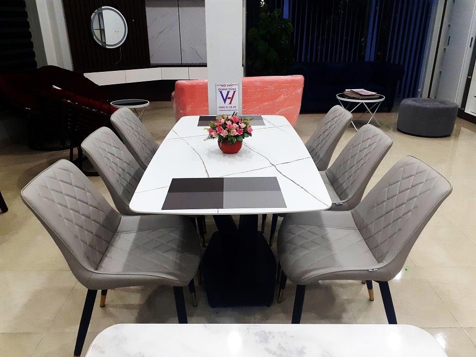bàn ghế ăn nhập khảu quang dũng hải phòng