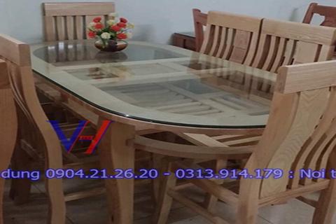Bộ bàn ghế ăn gỗ  GH-6002
