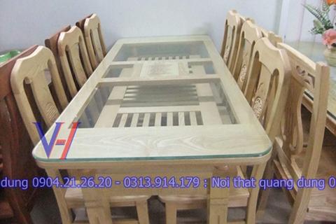 Bộ bàn ghế gỗ GH-6008