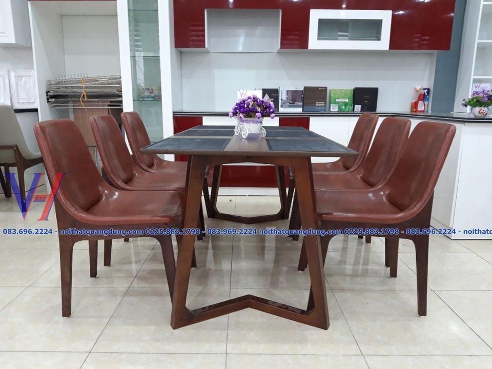 Bộ bàn ăn gỗ : Ventura-1209