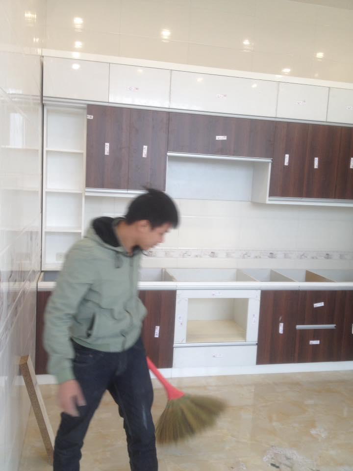 Tủ bếp anh Bằng Cẩm Phả