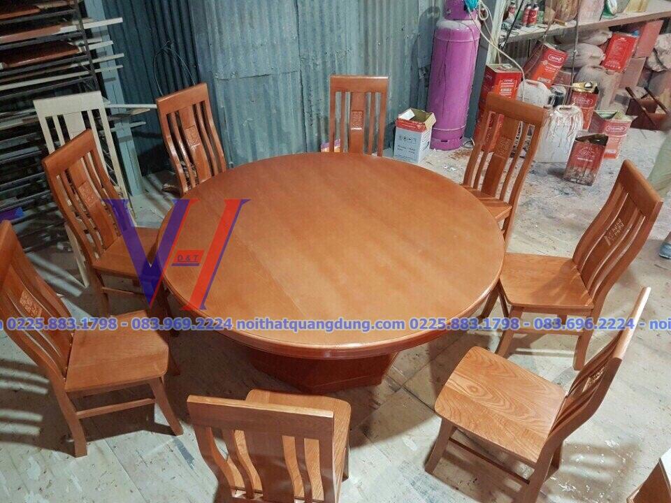 bàn ghế ăn giá rẻ nội thất quang dũng hải phòng