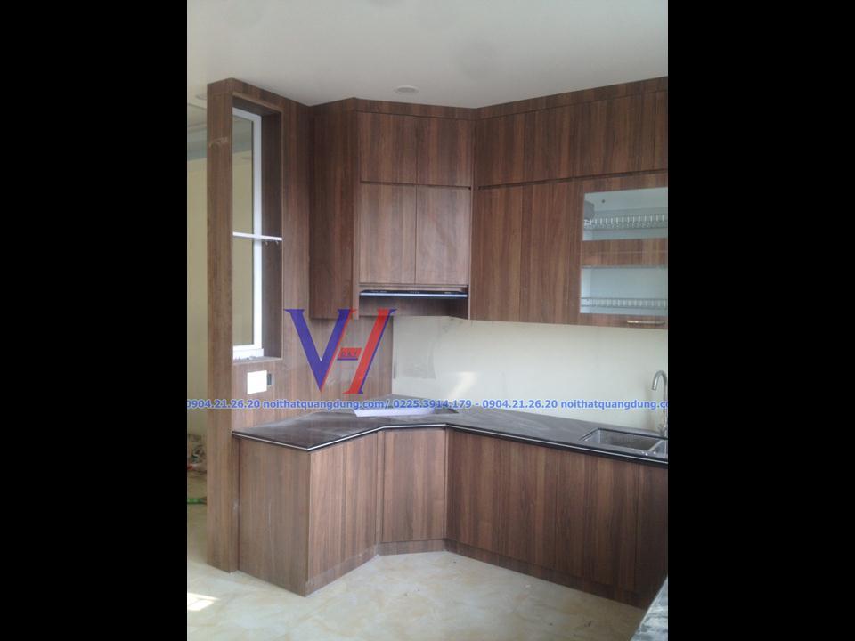 Tủ bếp Anh Nam LHP HP