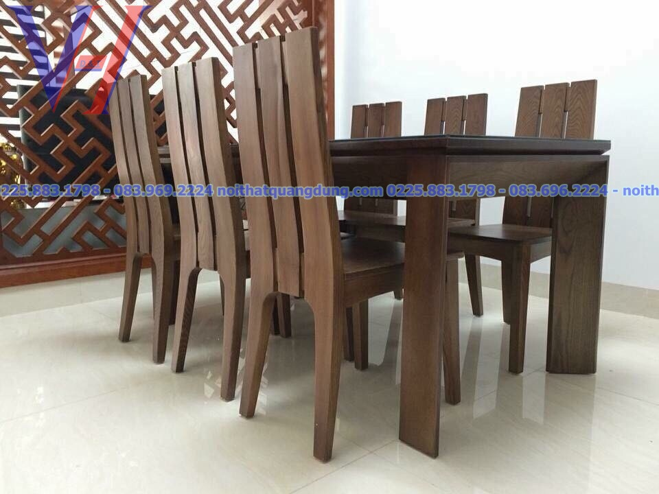 Bàn ghế ăn mặt kính GH-6032