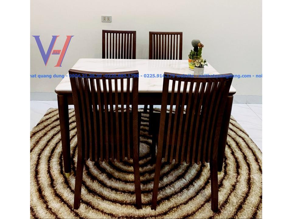 bàn ăn 4 ghế nhập khẩu tại hải phòng
