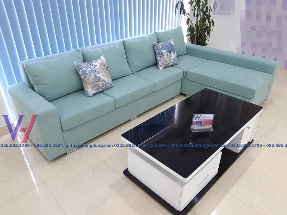 Bộ sofa tinh tế kiểu dáng tại hải phòng,nội thất quang dũng