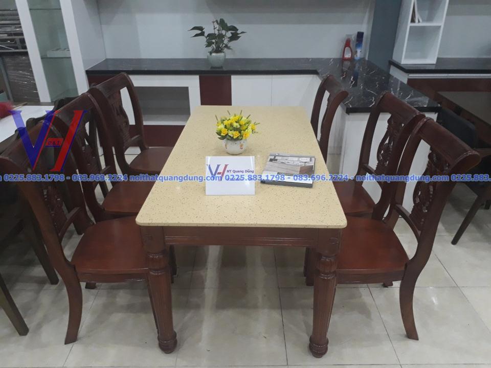 Bàn ghế ăn mặt đá GH-6030