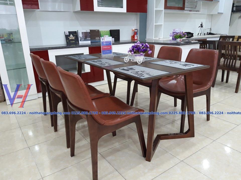 bộ bàn ăn đẹp và đẳng cấp tại nội thất quang duãng hải phòng