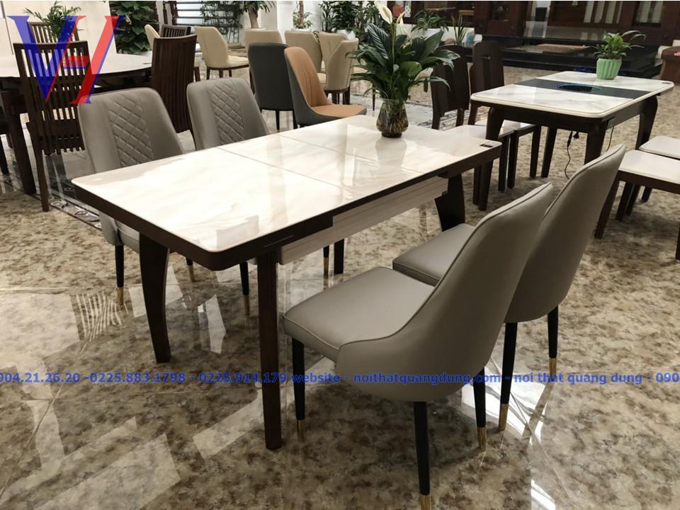 Bộ bàn ghế ăn nhập khẩu NK4121
