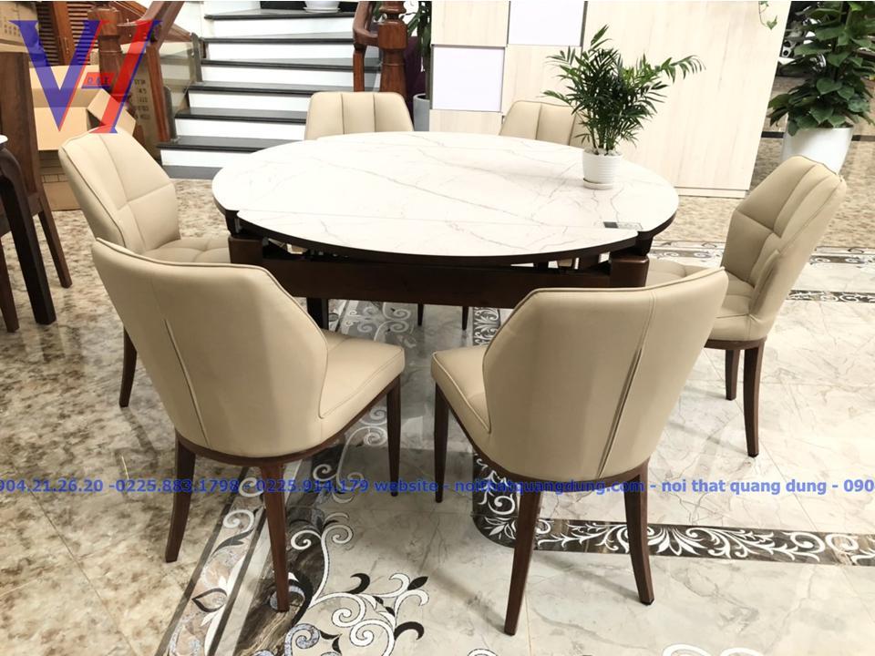 bàn ghế ăn tròn vuông nhập khẩu nguyên chiếc