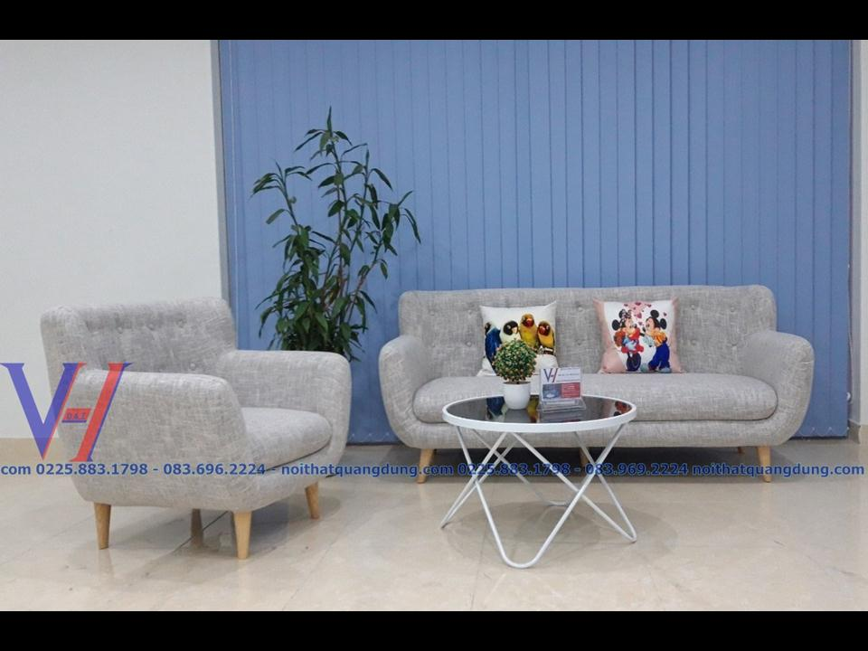 sofa nỉ cực đẹp quang dũng hải phòng