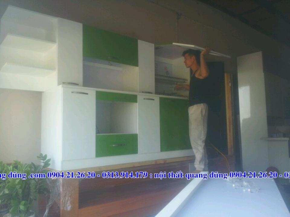 Tủ bếp nhỏ nhà chị Lượt TP Thái Bình