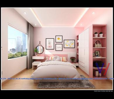 thiết kế thi công 3 phòng ngủ chị Anh HP