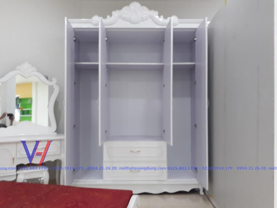 Bộ phòng ngủ tân cổ điển TC001