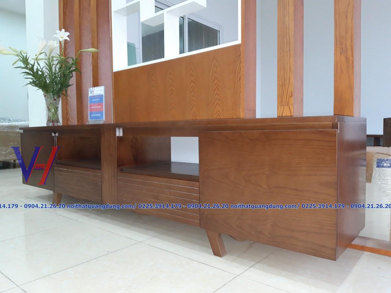 kệ tivi gỗ đẹp tại hải phòng