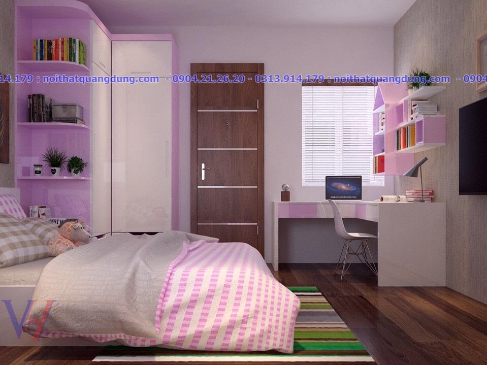 Phòng ngủ nhà chị Hà An Trang-An Đồng