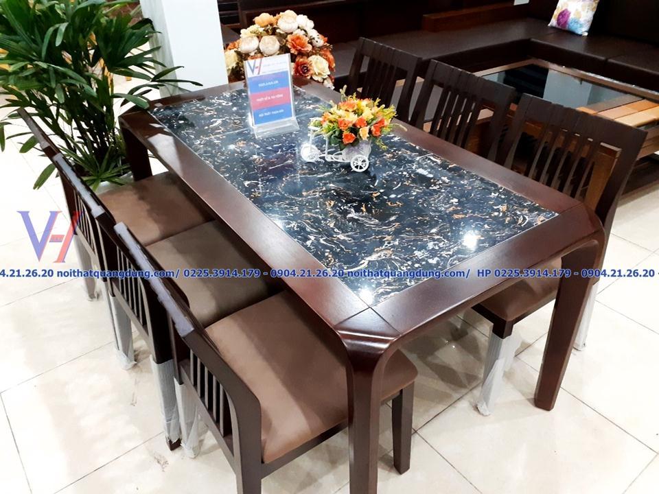 bộ bàn ăn nhiều người lựa chọn nhất tại nội thất quang dũng
