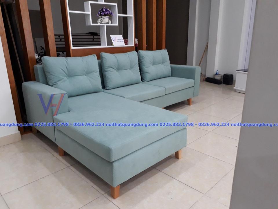 Sofa vải  nỉ cao cấp VH-025