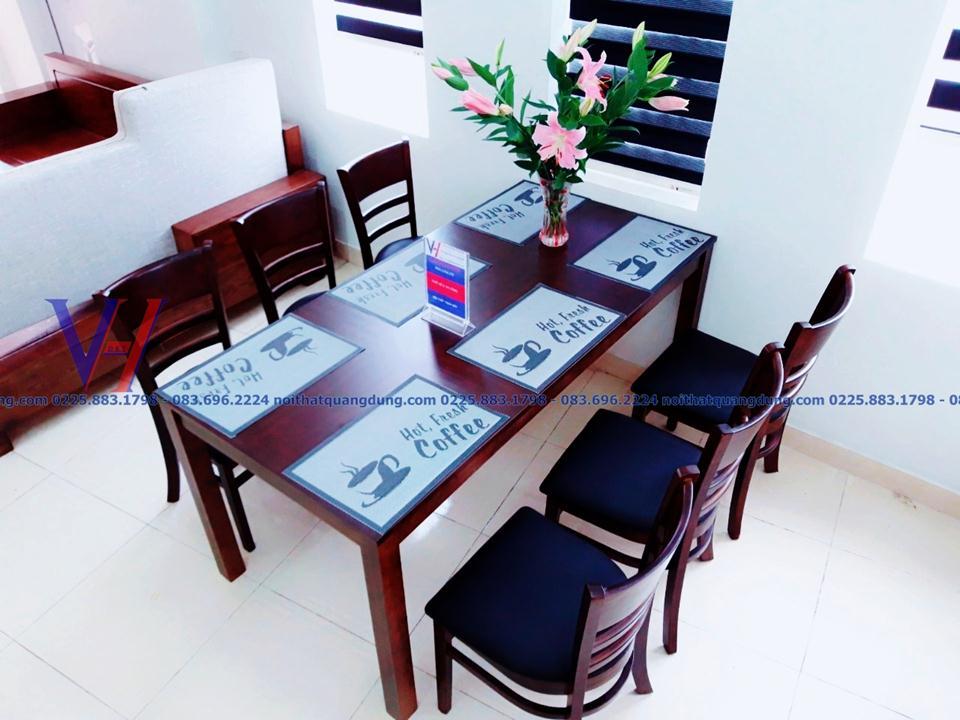 Bàn ghế ăn Cabine-6037 siêu rẻ