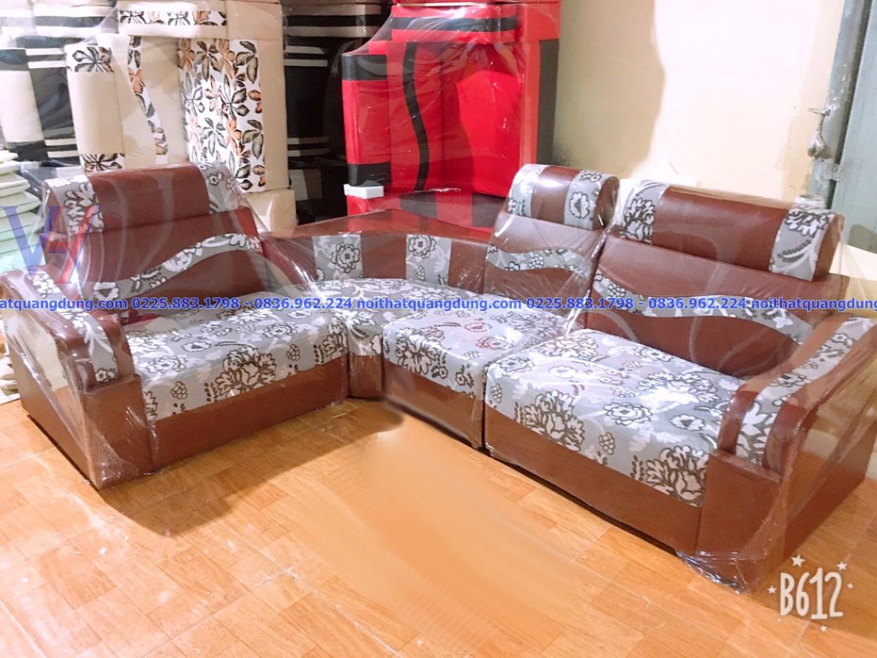 Sofa da mặt nỉ-DGN-210