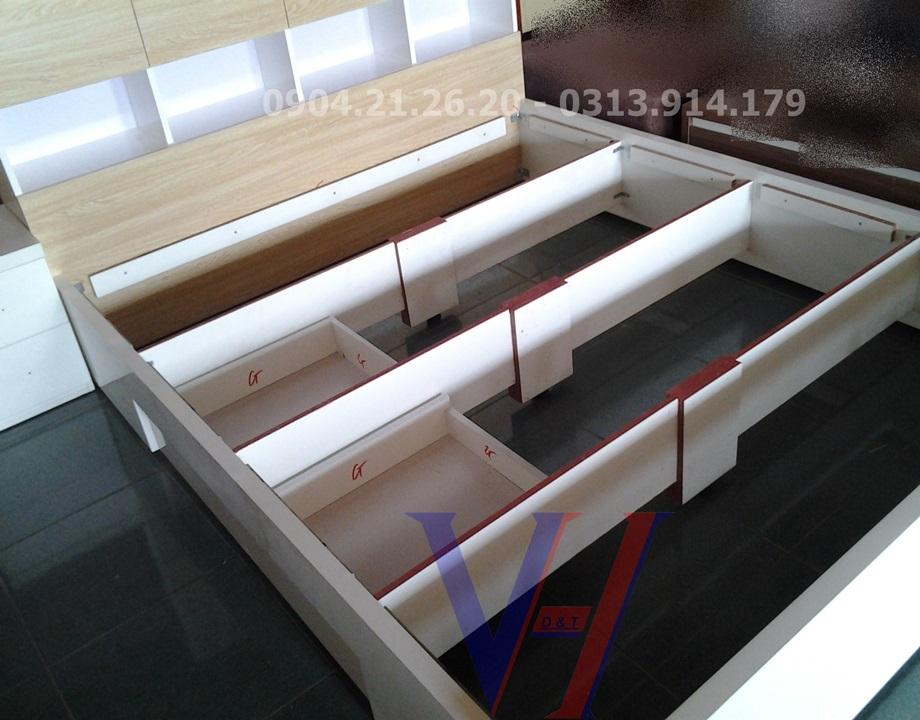 giường dát phản GS1801