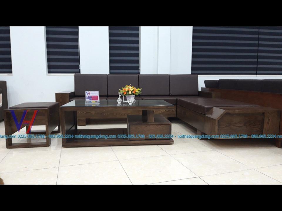 Sofa gỗ SG-009 Tại Nội Thất Quang Dũng