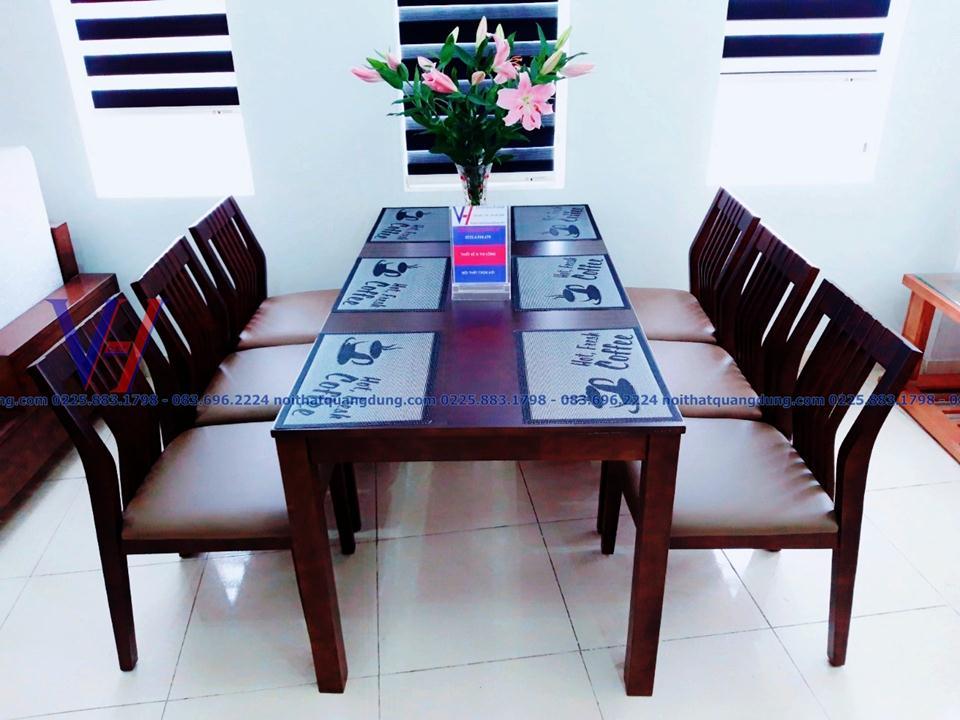 Bộ bàn ghế ăn 2019 đẹp và độc đáo tại nội thất quang dũng