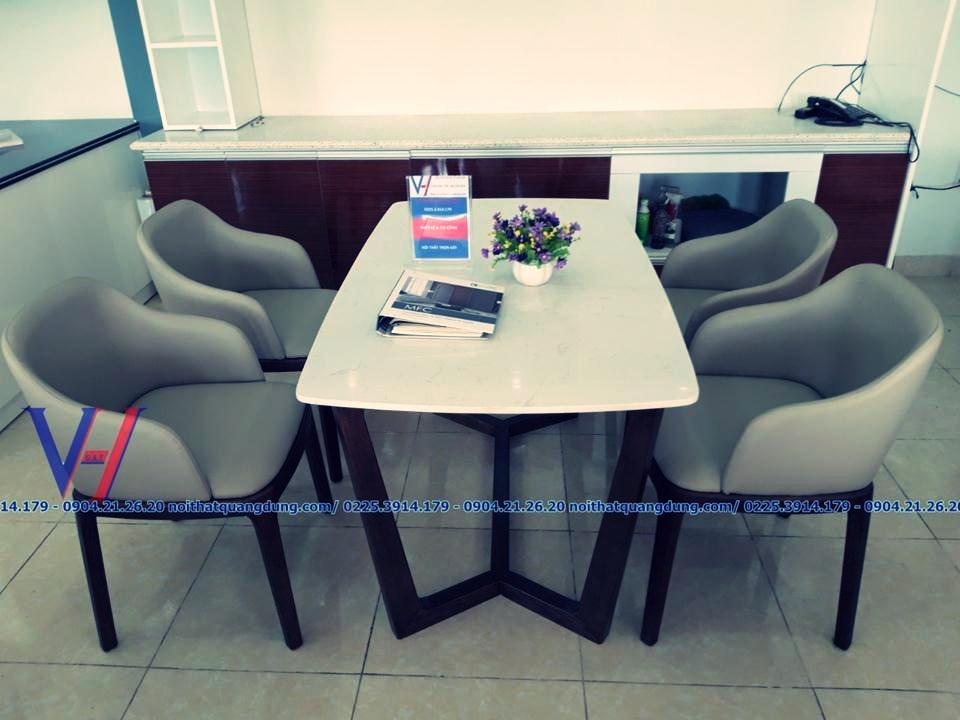 bàn ăn đẹp tại Siêu thị nội thất quang dũng hải phòng