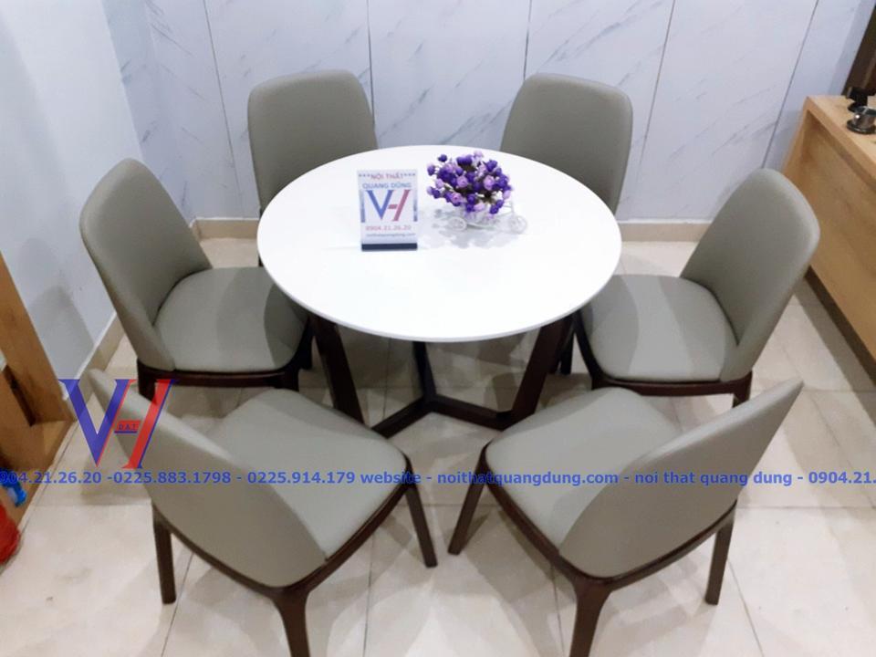 Bộ bàn ăn tròn GRACE BT6
