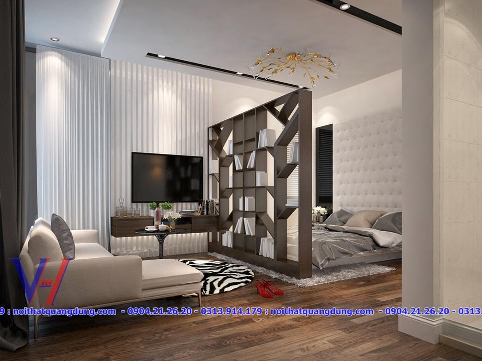 Phòng ngủ đẹp laminate