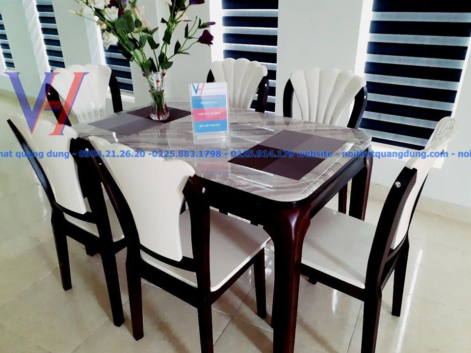 Bộ bàn ghế ăn NK641