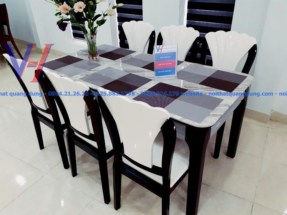 Bộ bàn ăn nhập khẩu phong các âu tại hải phòng