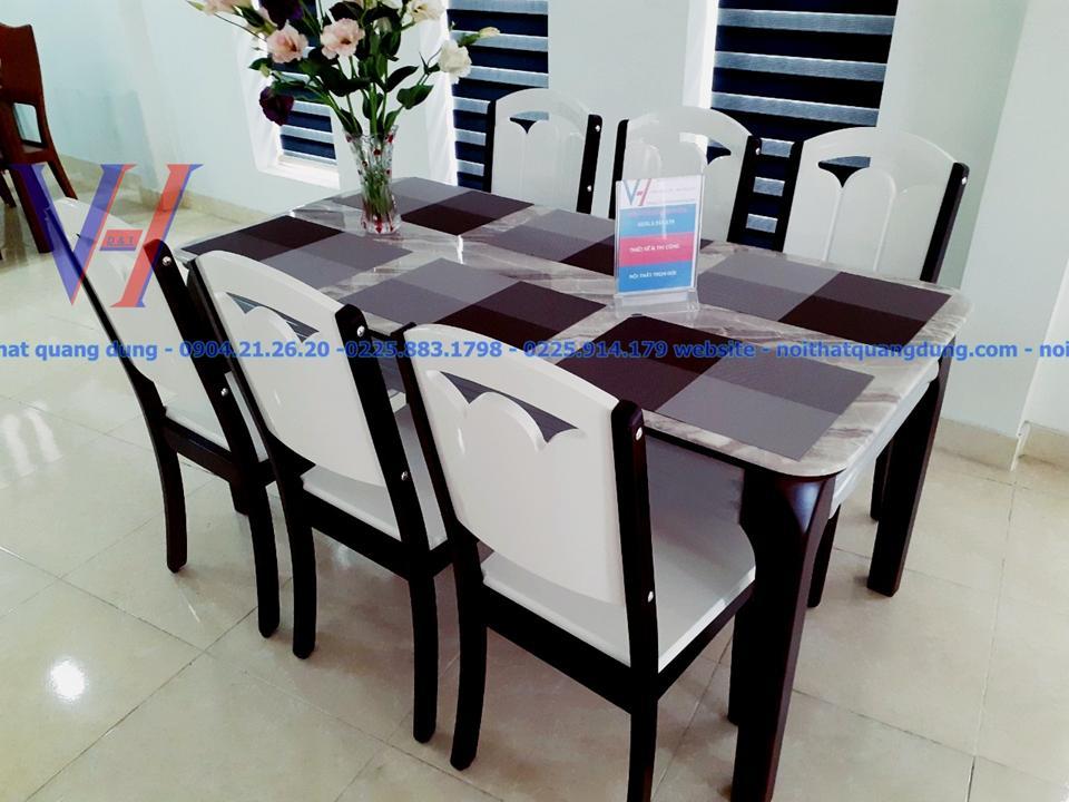trân trọng giới thiệu bộ bàn ăn nhập khẩu tại nội thất quang dũng hải phòng