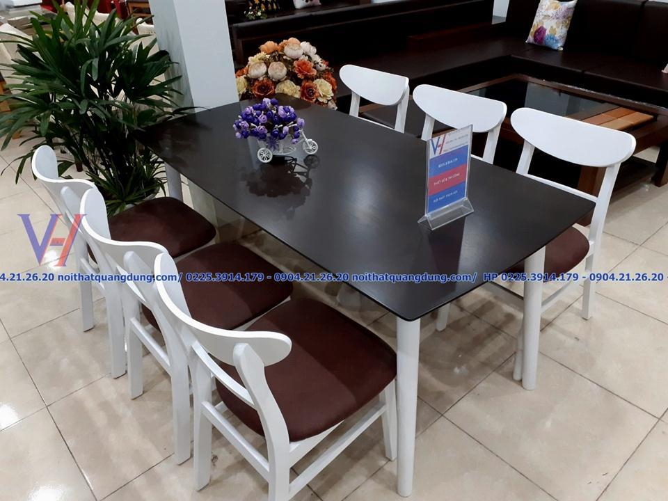 Bộ bàn ăn đẹp giá rẻ MANGO tại hải phòng