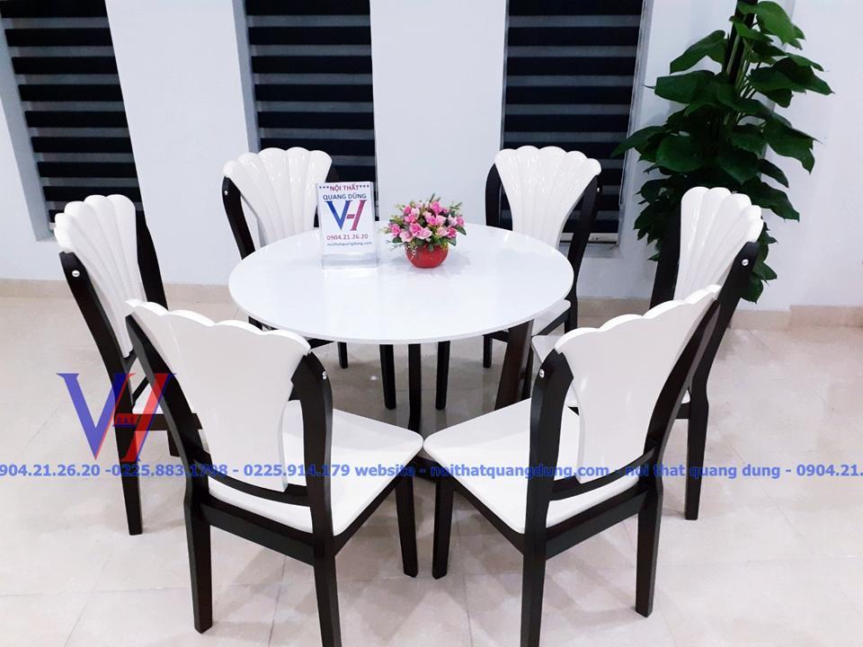 Bộ bàn tròn + vuông nhập khẩu NK12