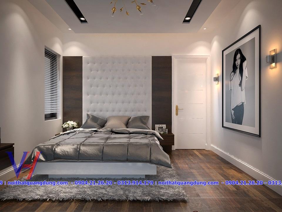 Phòng ngủ nhà Anh Hải Cầu Rào 1.