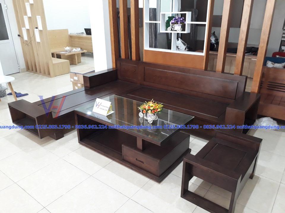 sofa gỗ đẹp và rẻ nhất tại hải phòng,NT-QUANG DŨNG
