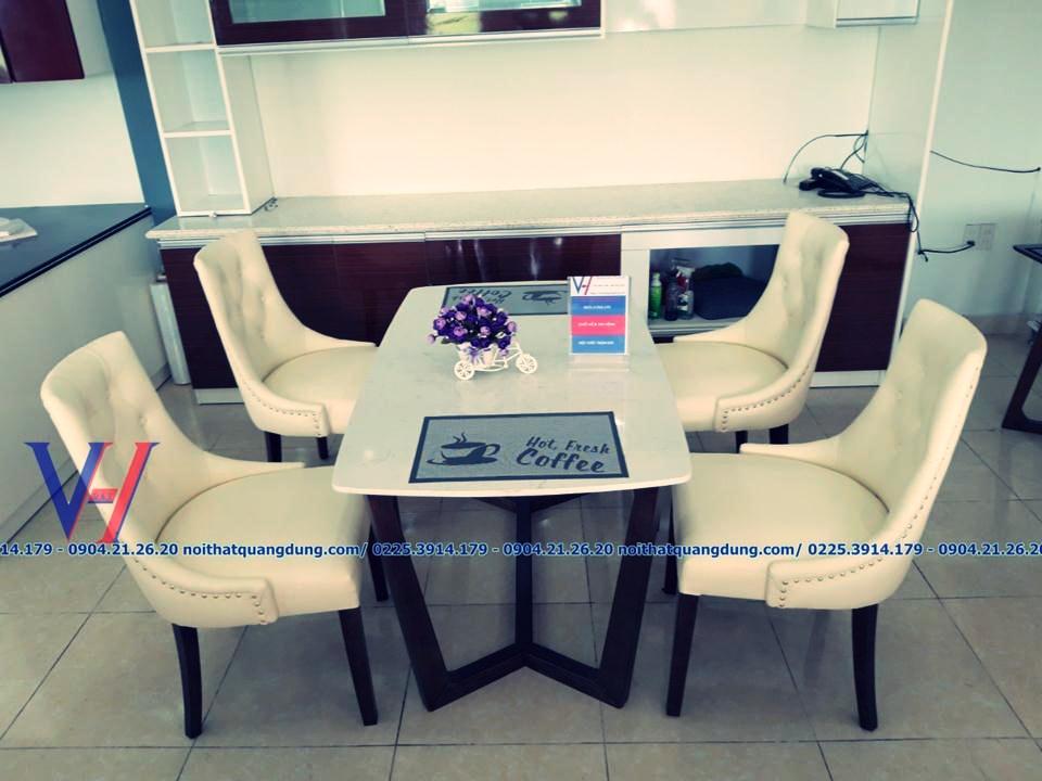 mẫu bàn ghế ăn sành điệu nhất hải phòng