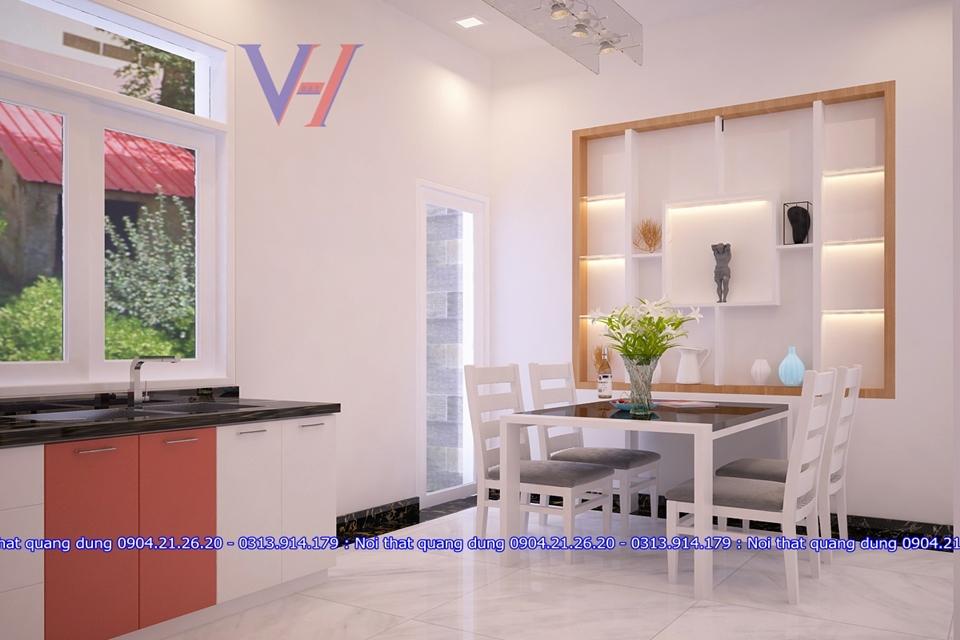Tủ bếp nhựa nhà chị Ms.Lê Thiên Lôi HP