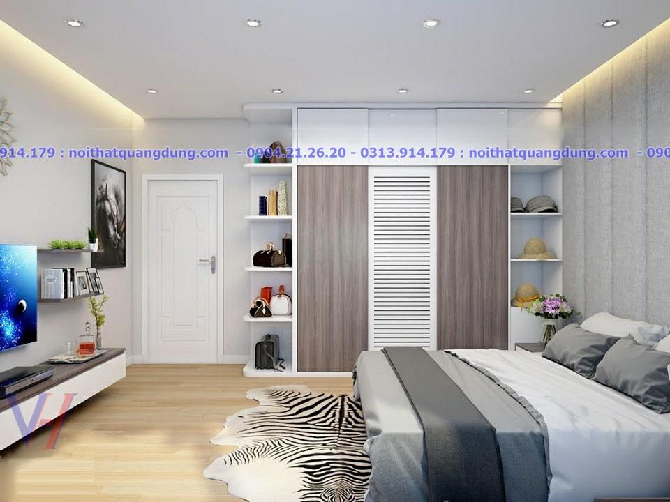 Mẫu thiết kế phòng ngủ Master đẹp