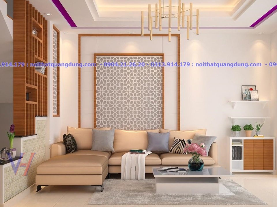 Phòng khách đẹp & đơn giản