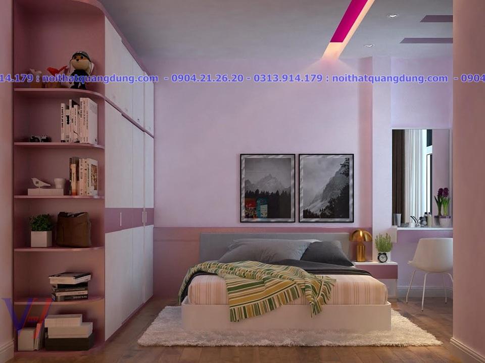 Mẫu thiết kế phòng nhà chị Lê Thiên Lôi