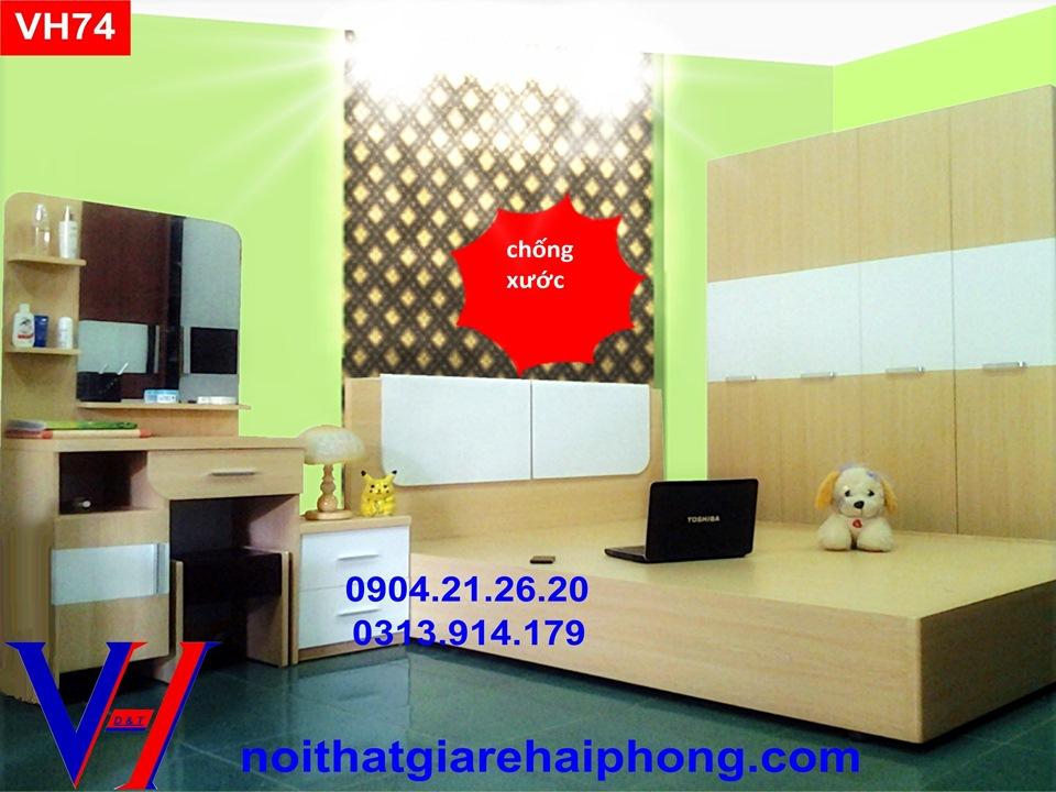 Bộ phòng ngủ VH74