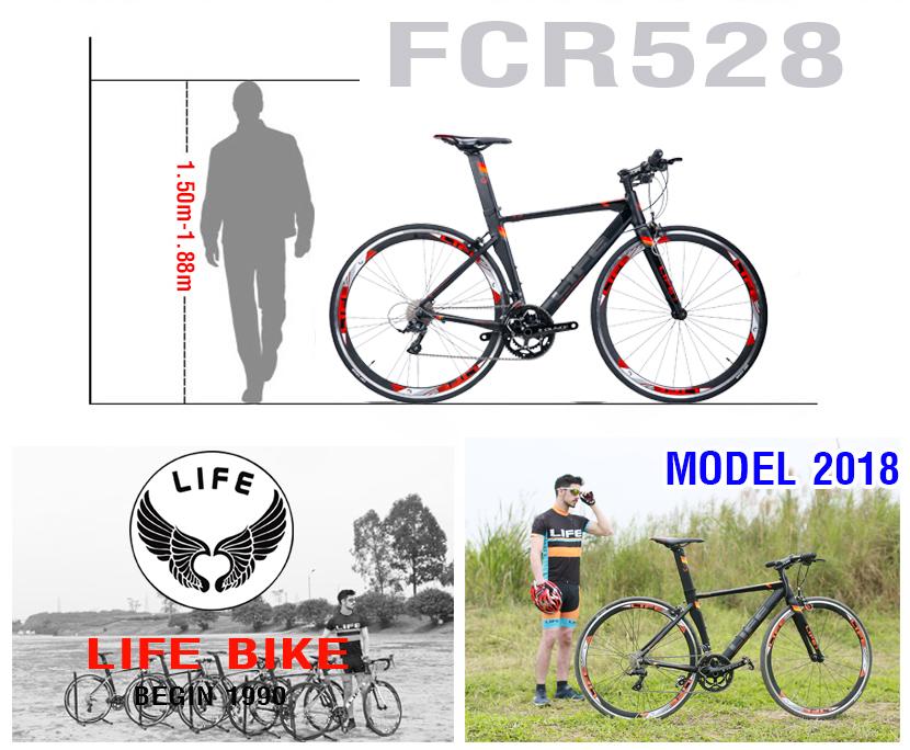 Xe đạp touring Life FCR528 model 2018