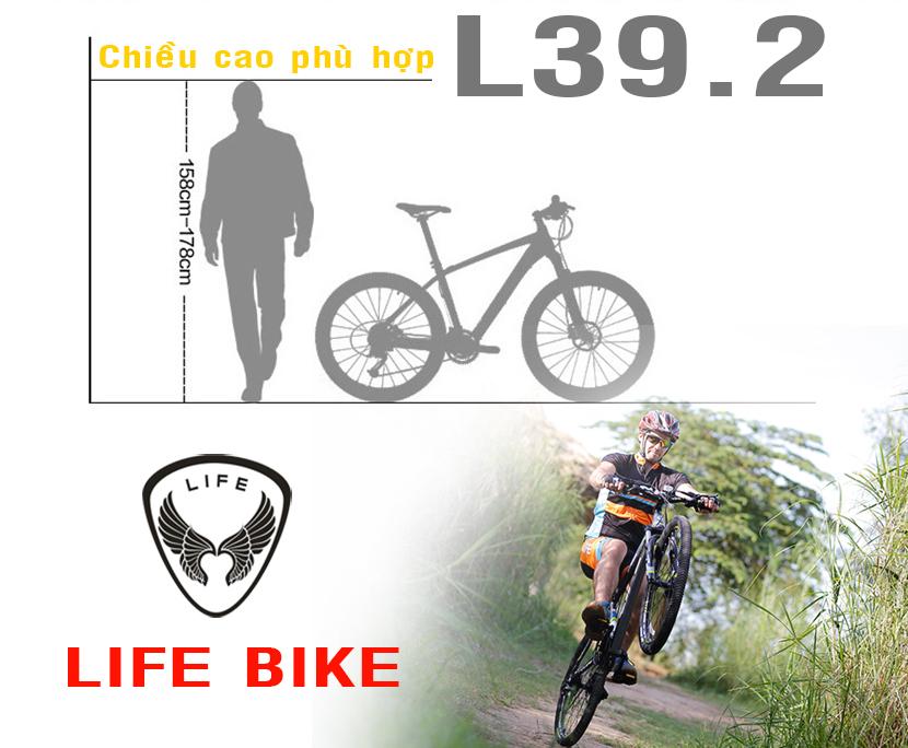 Xe đạp địa hình Life thiết kế tiêu chuẩn Châu Âu