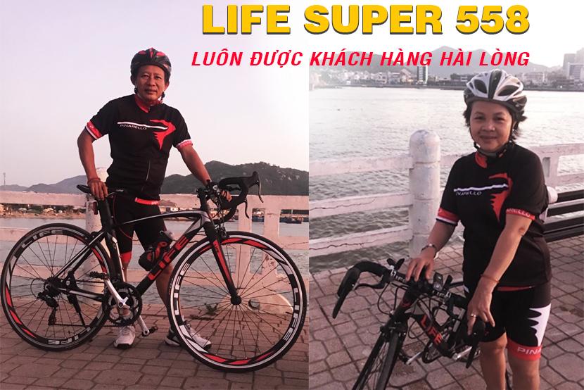 Xe đạp đua Life Super558 sự lựa chọn hoàn hảo