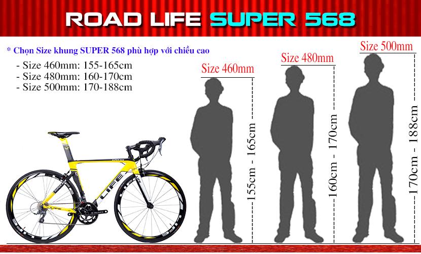 Size Life Super568
