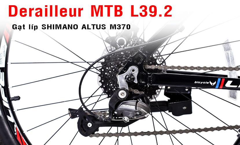 Tăng tốc sau xe đạp địa hình Life L39.2
