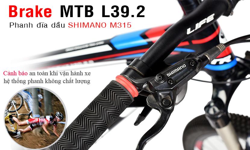 Phanh xe đạp Life L39.2