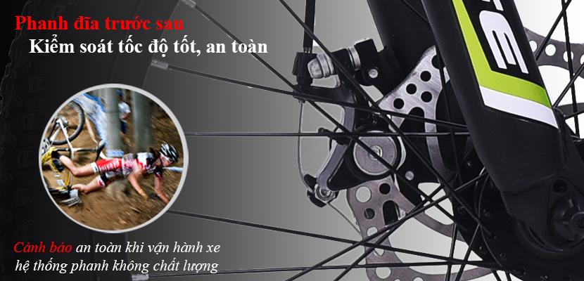 Phanh xe đạp địa hình Life L20.2